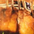 Tweet Pour 4 personnes Cuisson basse température: env. 1 h 30 mn Température à cœur: 55 °C = rosé Ingrédients Carrés d'agneau (env.400 gr/pièce): 2 Huile ou beurre à rôtir: […]