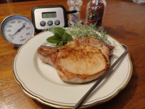 C telettes de porc cuisson basse temp rature - Cuisine basse temperature philippe baratte ...