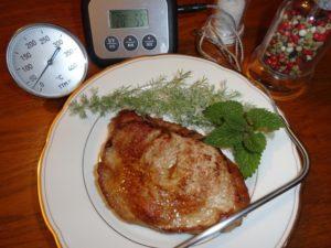 Steaks de veau cuisson basse temp rature - Cuisine basse temperature philippe baratte ...