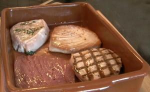 Dos de thon cuisson basse temp rature - Cuisine basse temperature philippe baratte ...