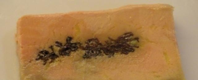 Terrine de foie gras mi cuit aux morilles cuisson basse temp rature blogs de cuisine - Temperature cuisson foie gras ...