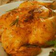 Tweet         Moëlleux, savoureux, parfumé… Un poulet rôti à la perfection! Pour 4 à 6 personnes Préparation: 10 mn Cuisson: env. 3 h […]