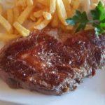 Sous vide steak boeuf